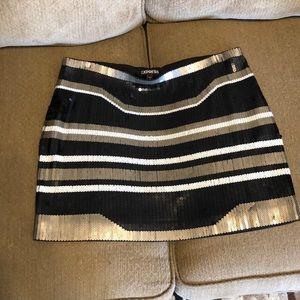 NWOT Express sequined skirt
